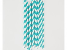 childrens-birthday-party-supplies-table-decoration-teal-white-striped-straws