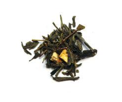 πράσινο τσάι πορτοκάλι