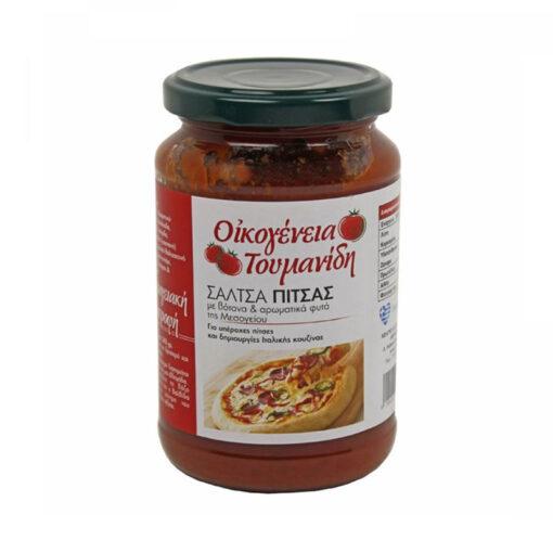 Μεσογειακή σάλτσα πίτσας - ΟΙΚΟΓΕΝΕΙΑ ΤΟΥΜΑΝΙΔΗ 340 gr